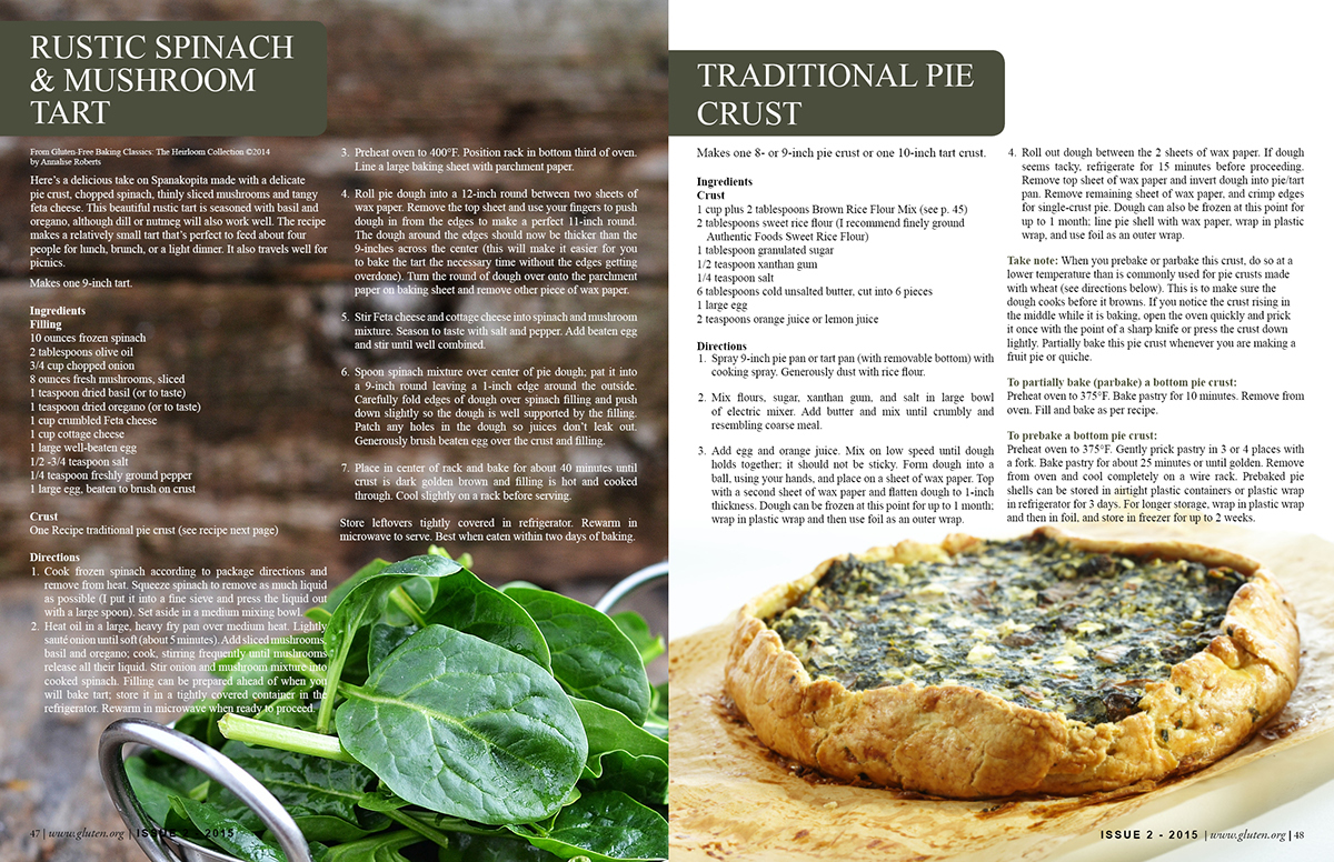 recipe magazine layout on behance