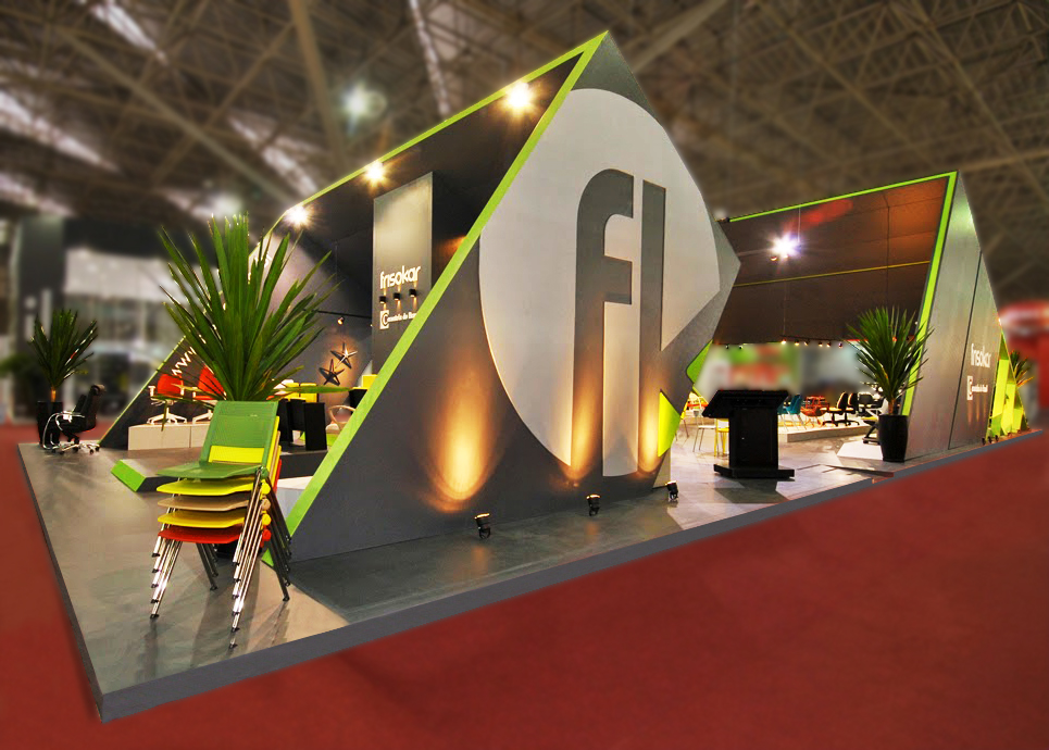 Exhibition Stand Designer Job Description : Construídos on behance