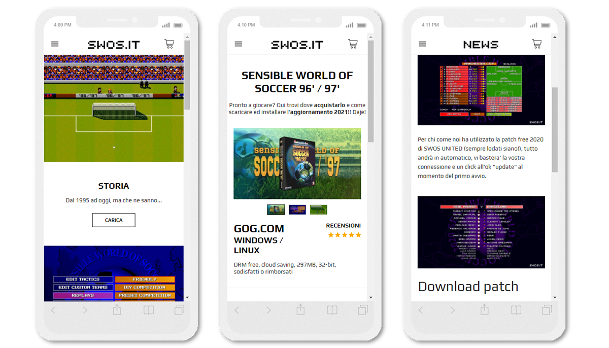 Amp arcade development mobile design videogame Web Design