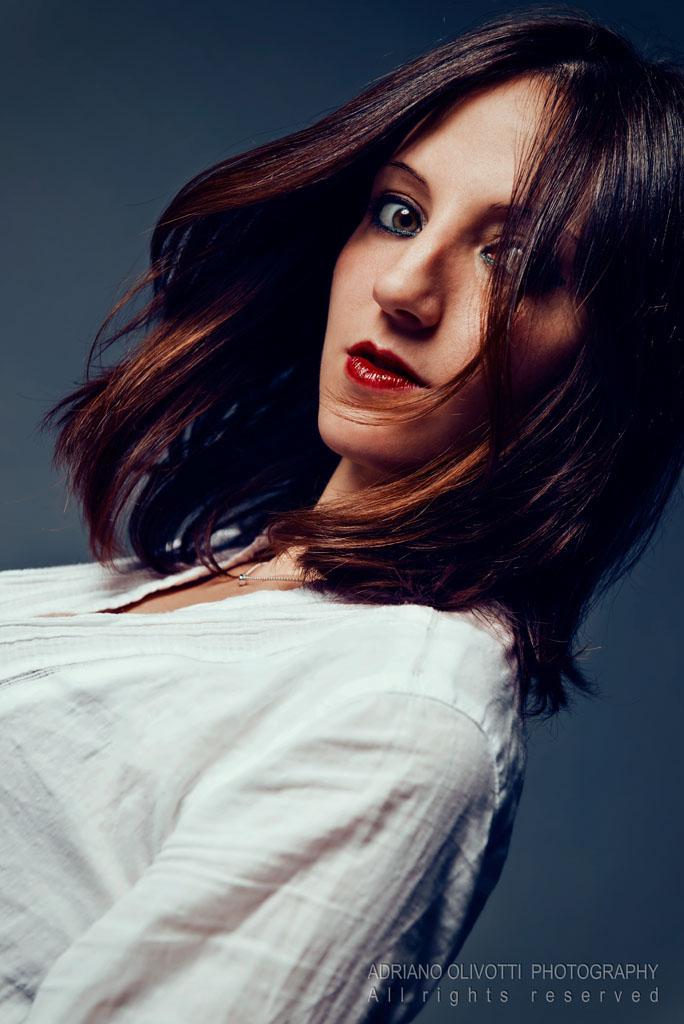 model glamour portrait