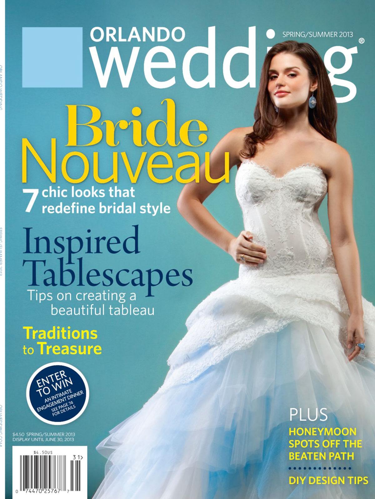 Orlando Wedding Magazine Spring/Summer 2013 on Behance
