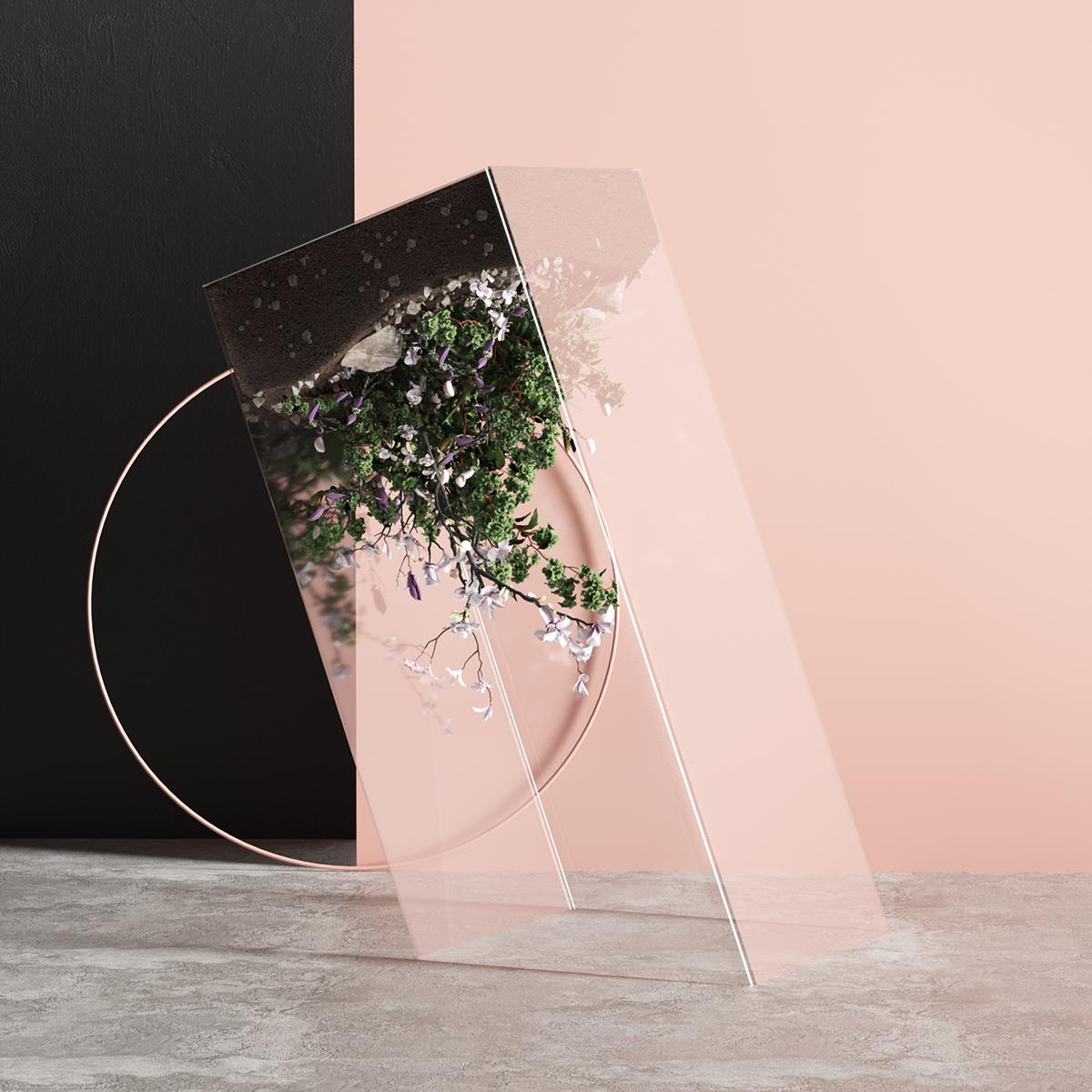 3D Tarka set digital Render c4d cinema4d abstract colors modern