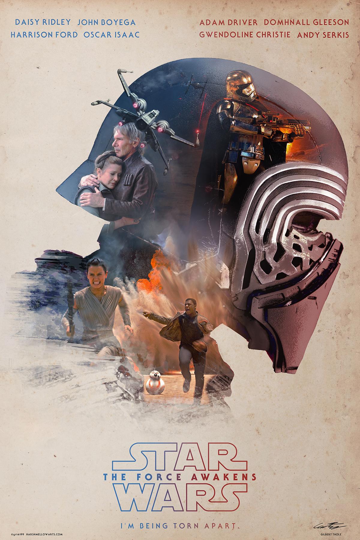 Kylo Ren Sicario Styled Poster On Behance