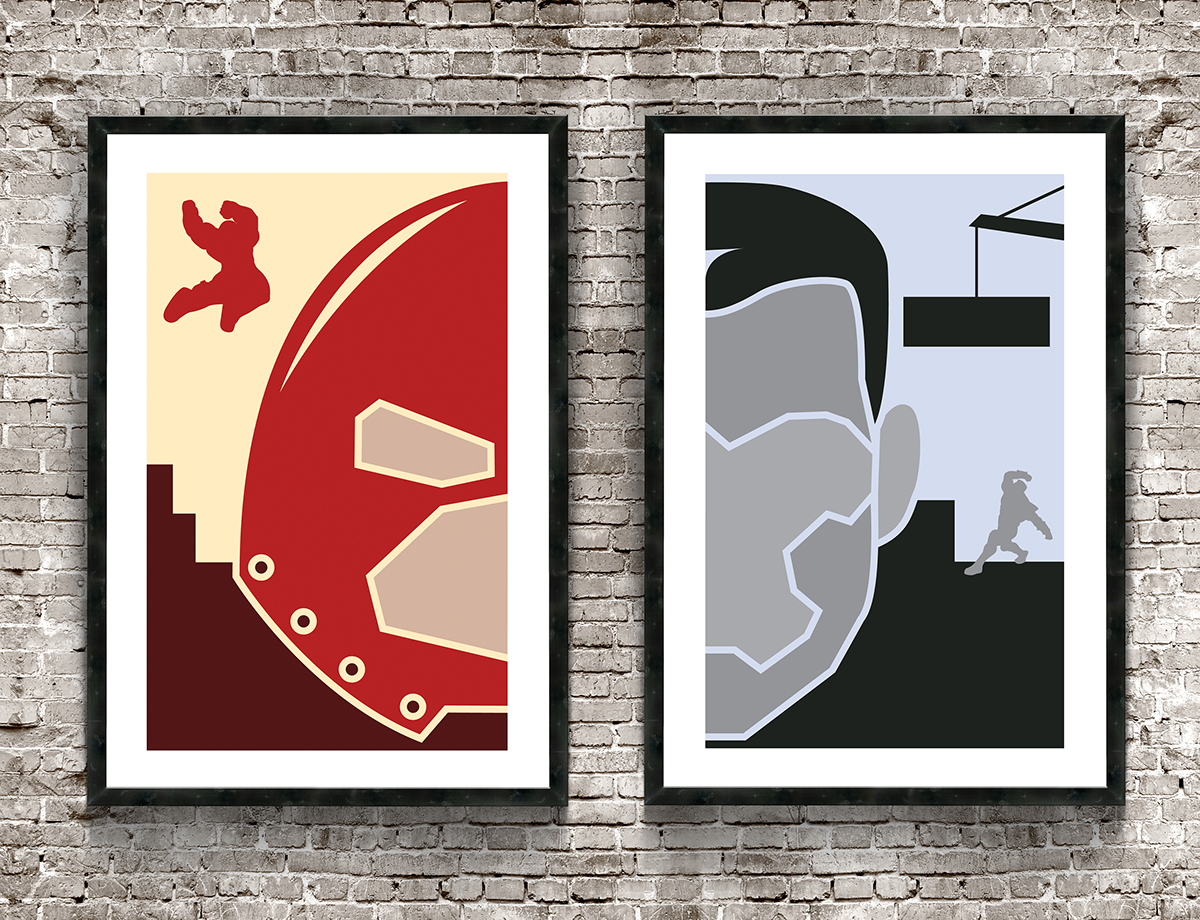 Poster Design - Juggernaut & Colossus Set on Behance