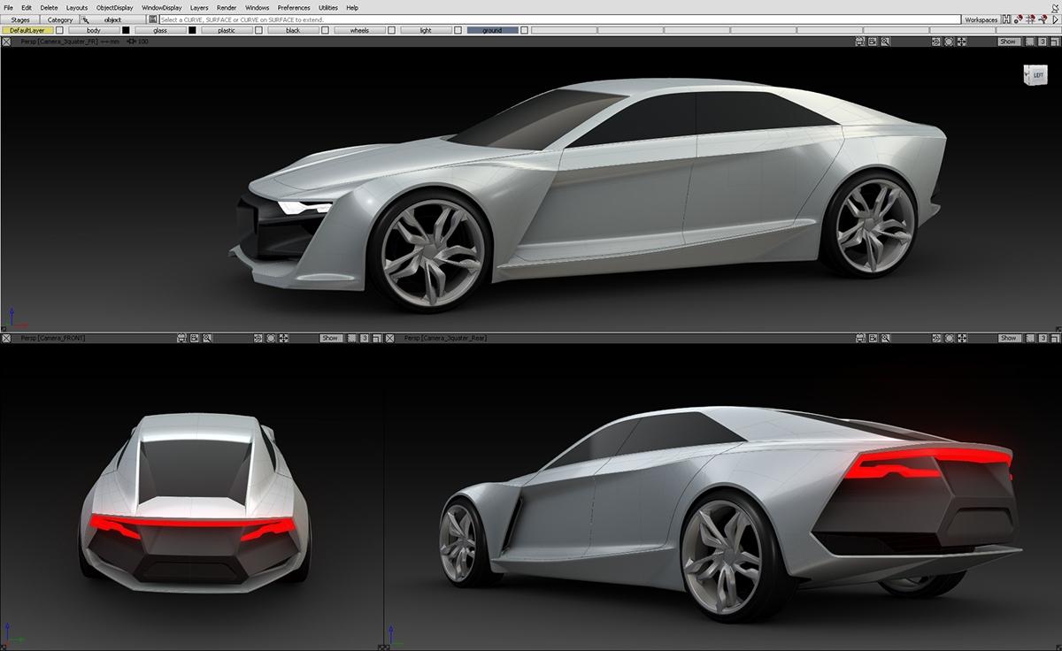 Audi R Diploma Project On Behance - Audi r9