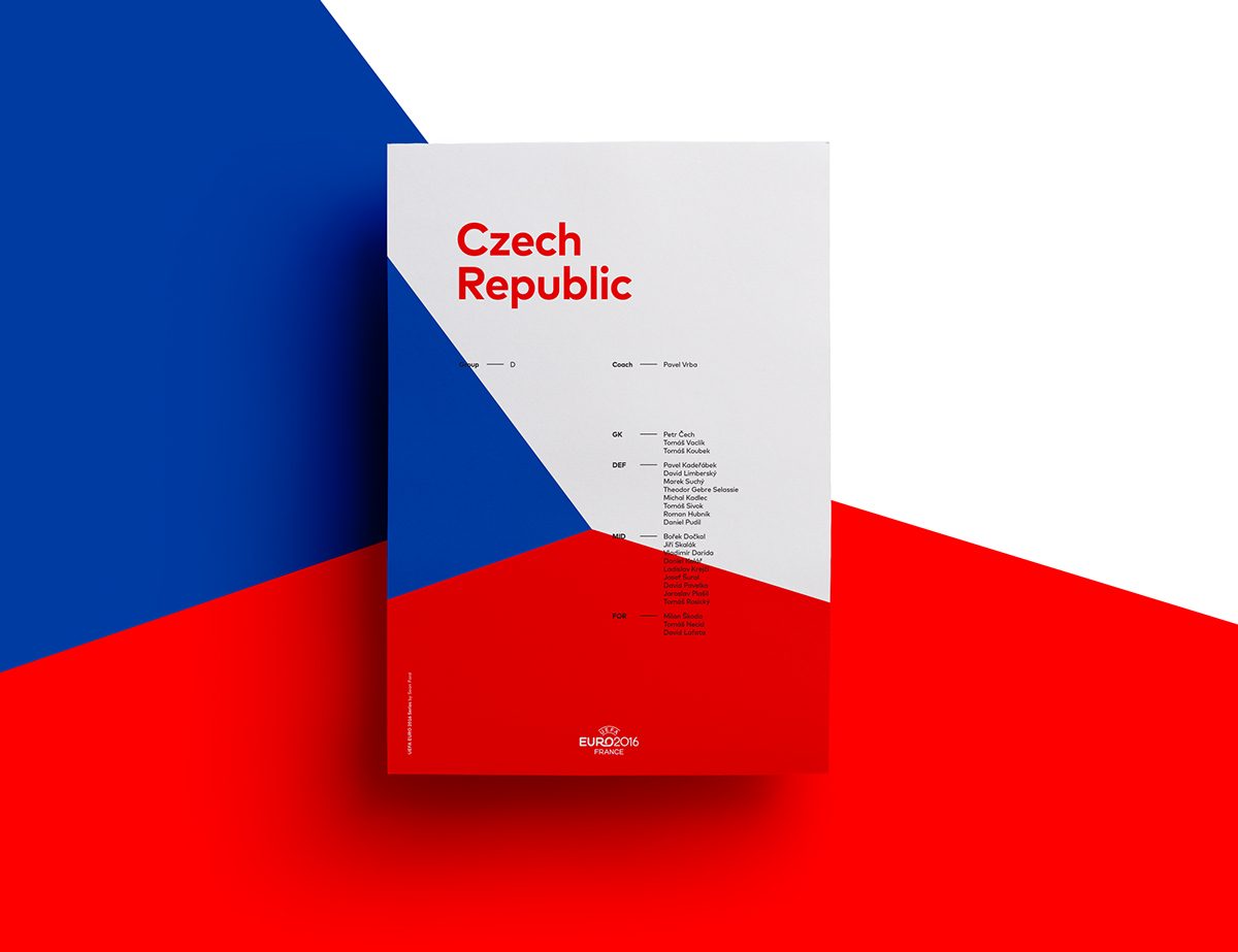 UEFA EURO 2016 Poster Series for Simple Poster Design Inspiration  75tgx