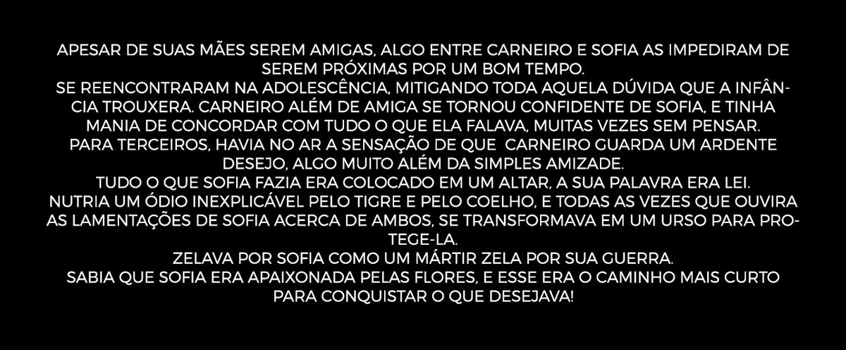 Adobe Portfolio Quem Matou Sofia la mafia Maceió Alagoas premiere after effects historia sofia coelho Galo cão carneiro