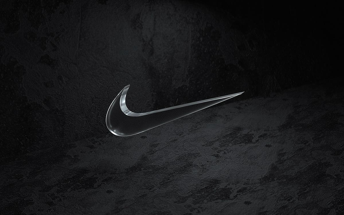 Nike concept publicity CGI visuals setdesign digitalart 3D sneakers