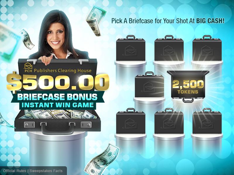 Briefcase Bonus Game on Behance