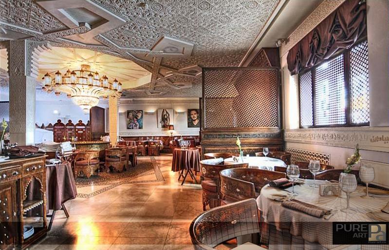 restaurant Russia Damascus photoshop Interior design luxury pure_art Orient Zbrush
