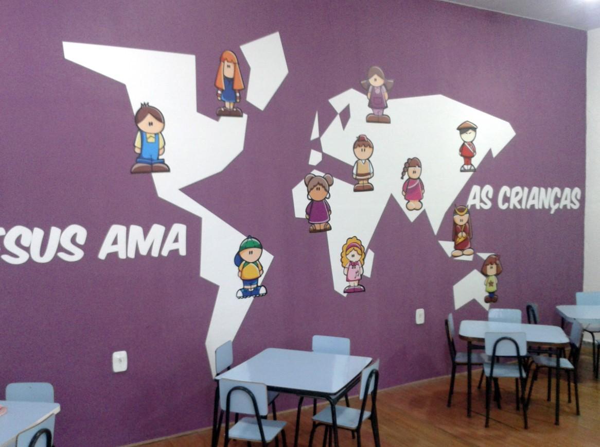 design interiores Decoração infantil personagens cartoon ilustrações digitais