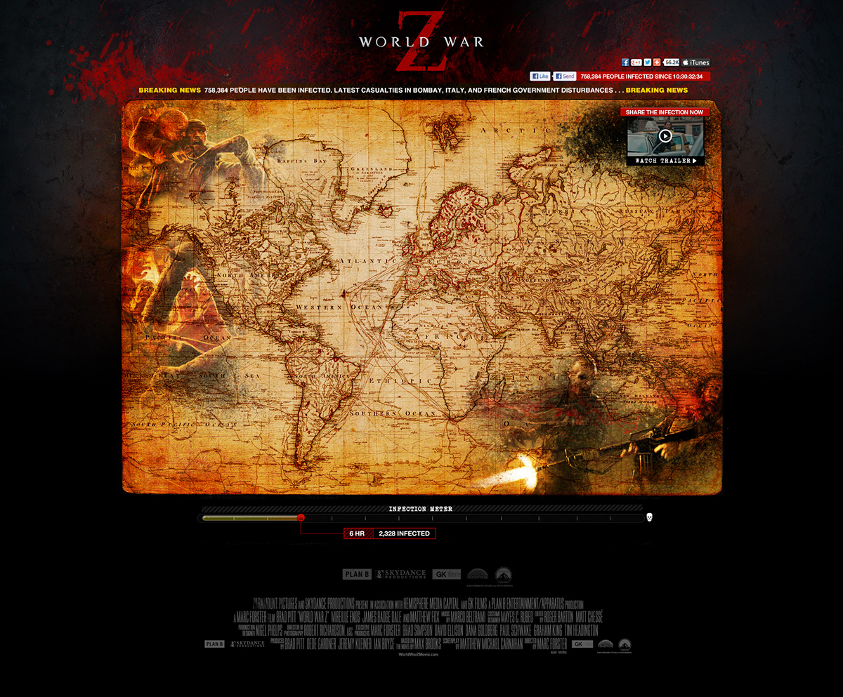 World War Z on AIGA Member Gallery