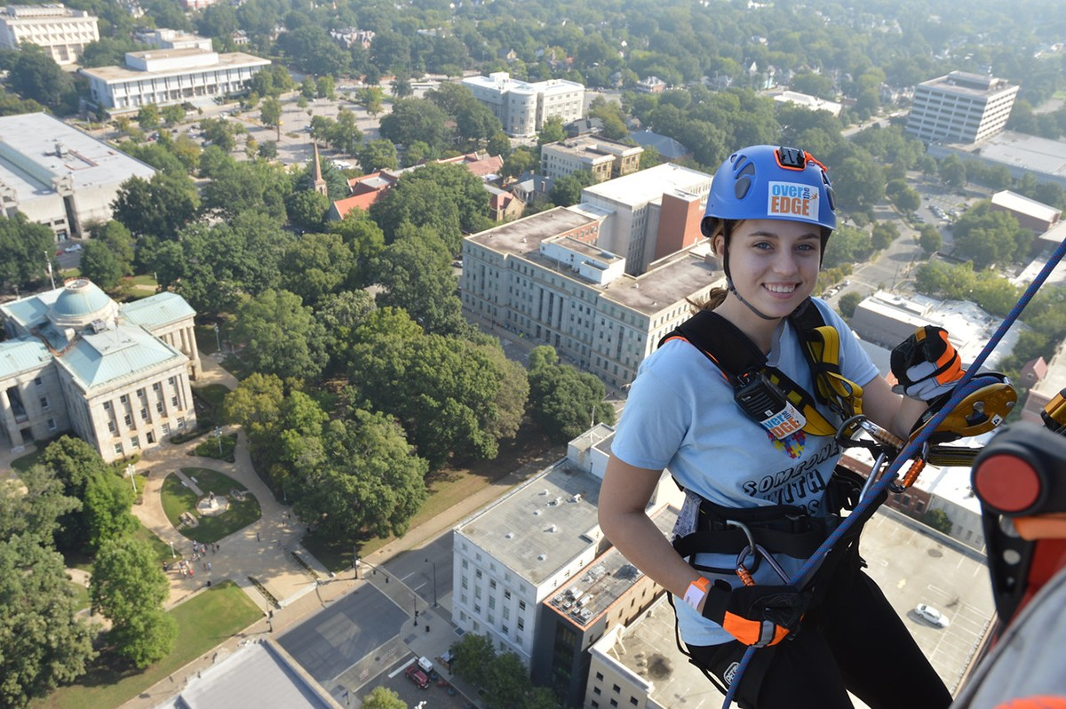 special olympics SONC over the edge Golisano Foundation Dr. Michael Milano Keith L. Fishburne UNC School Dentistry Truck Convoy Charlotte Summer Games Results City of Raleigh