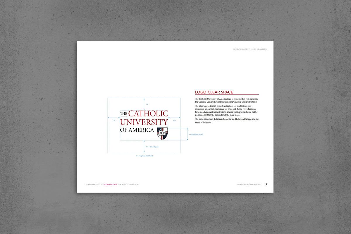 branding  identity Graphic Standards guidelines University higher education