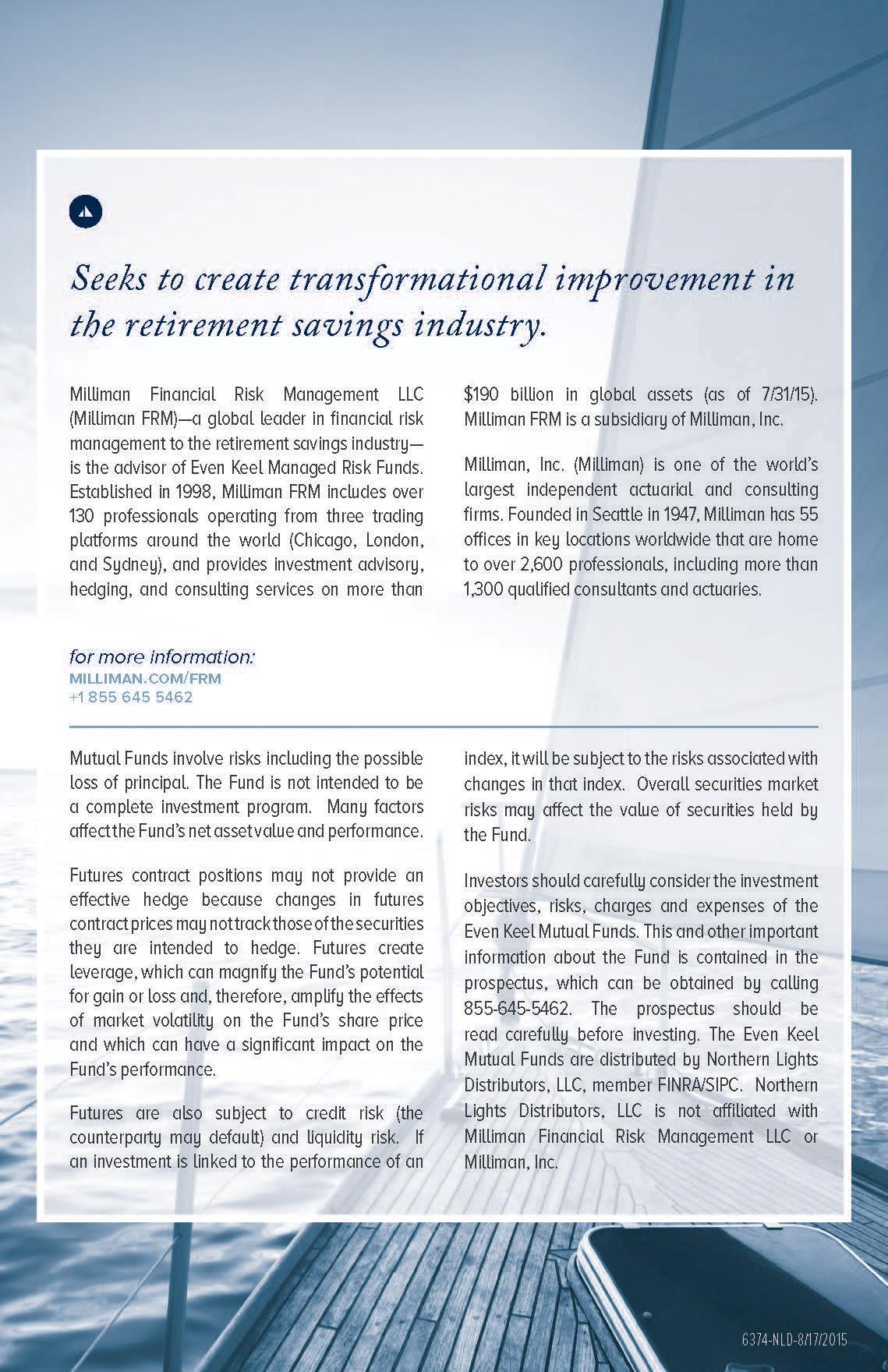 Even Keel Investments - Investor Guide Mailer on Behance
