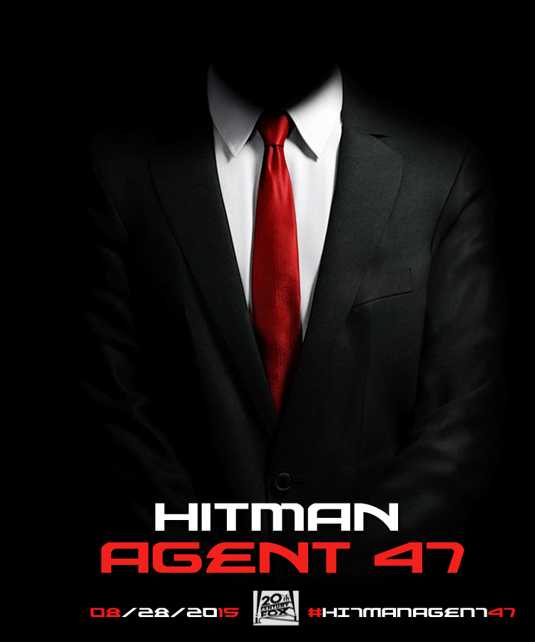 Alternative Hitman Movie Poster On Behance