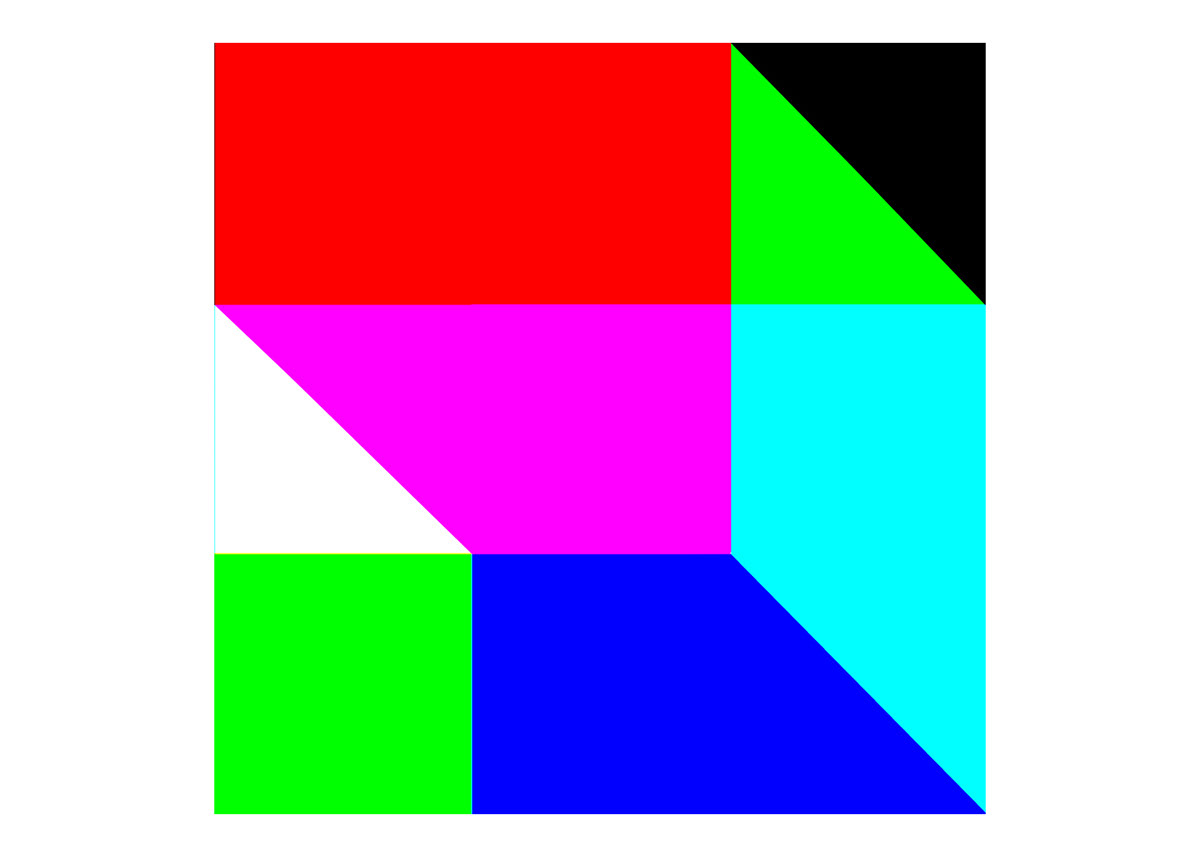 red green blue abstract light color Illusions