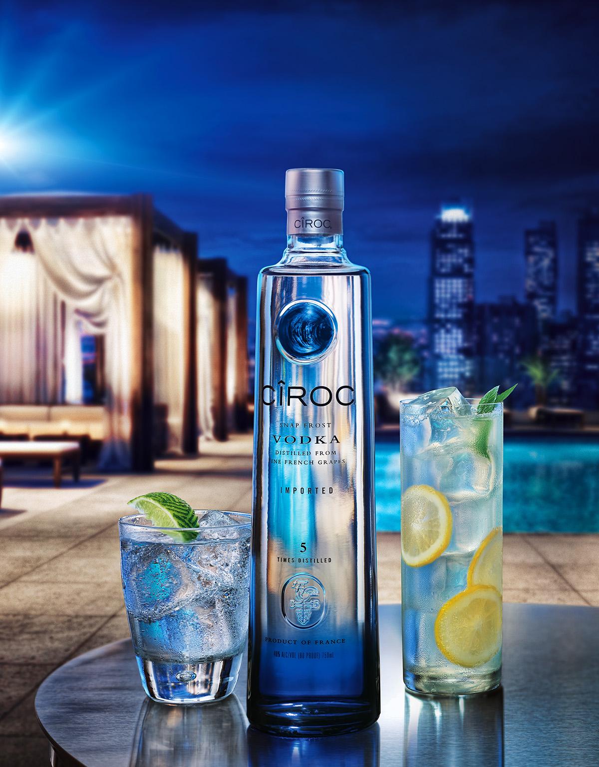 Ciroc Vodka on Behance - 555.9KB