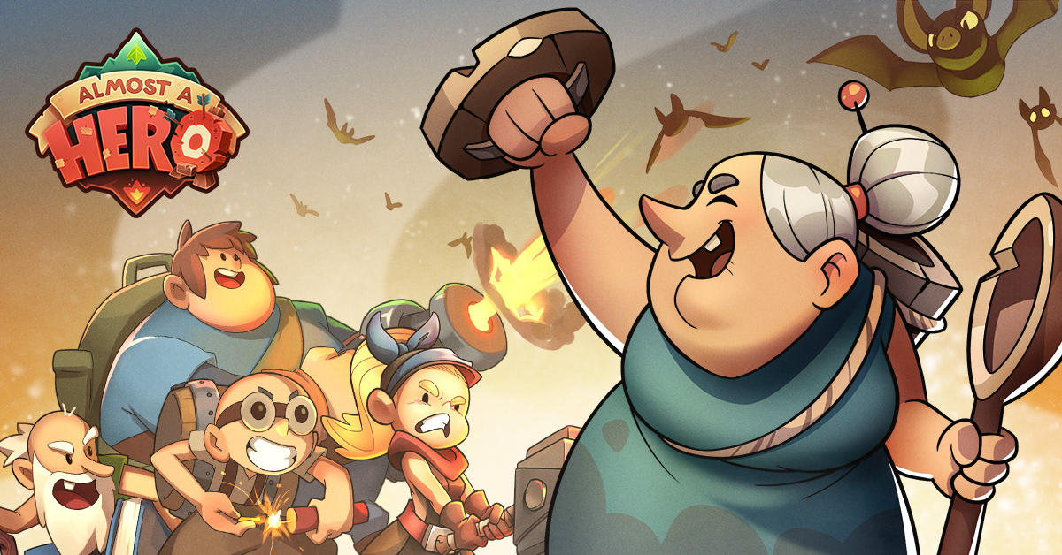 Almost a Hero,Hero,game,beesquare,characters,videogame,marketing  ,User Acquisition,ua