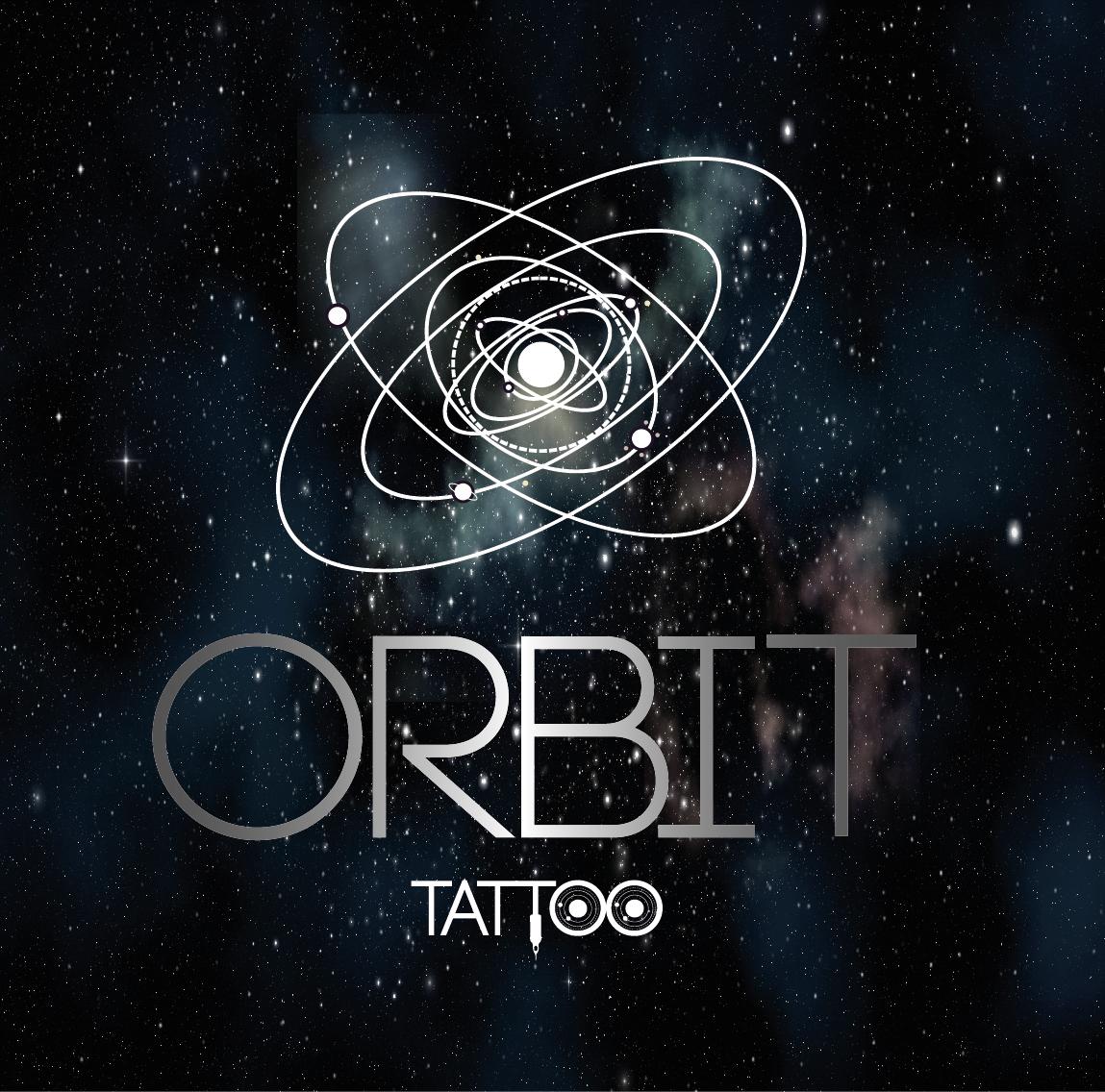 tattoo diseño logo orbita