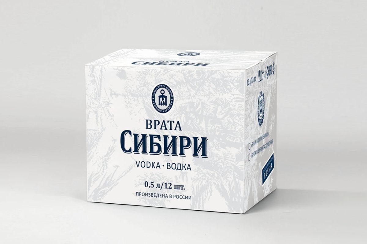 Vodka водка Siberia