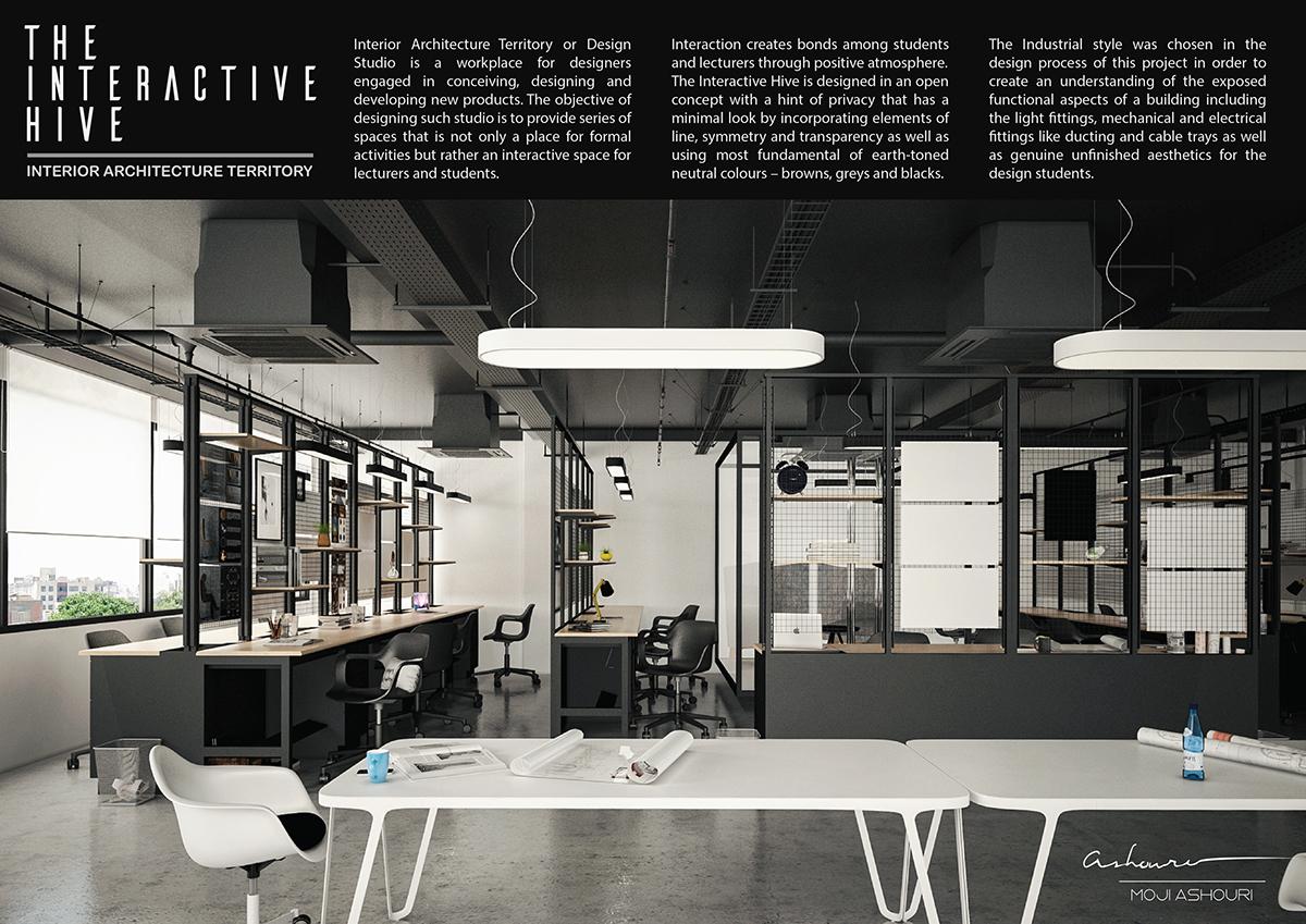 Interior design studio project 3