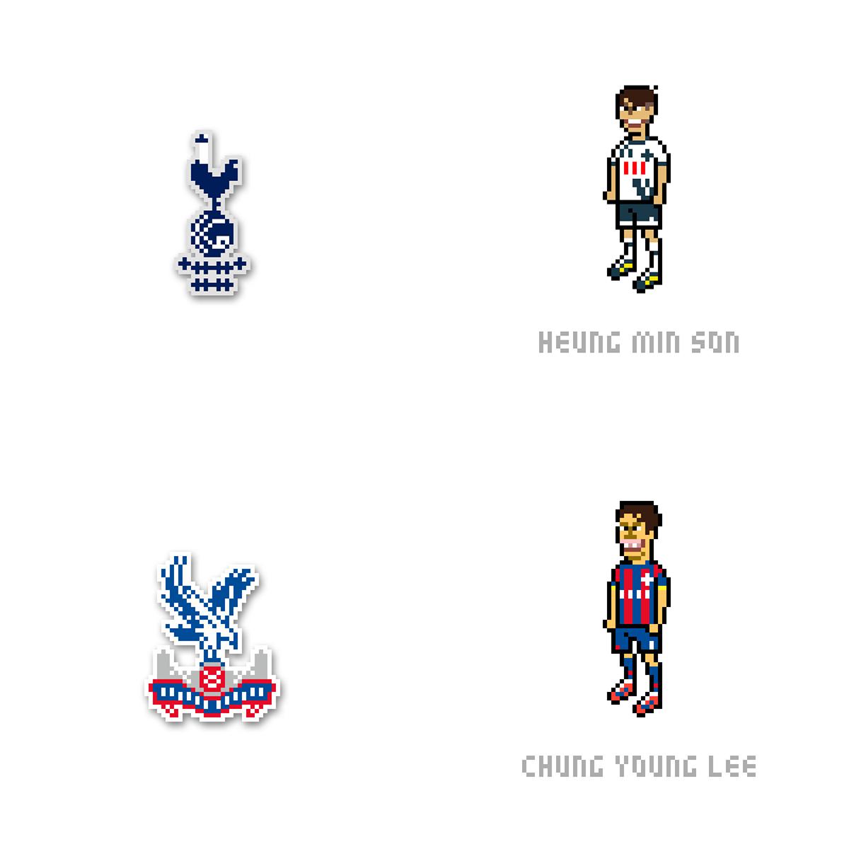 Barclays Premier League Pixel Art On Behance