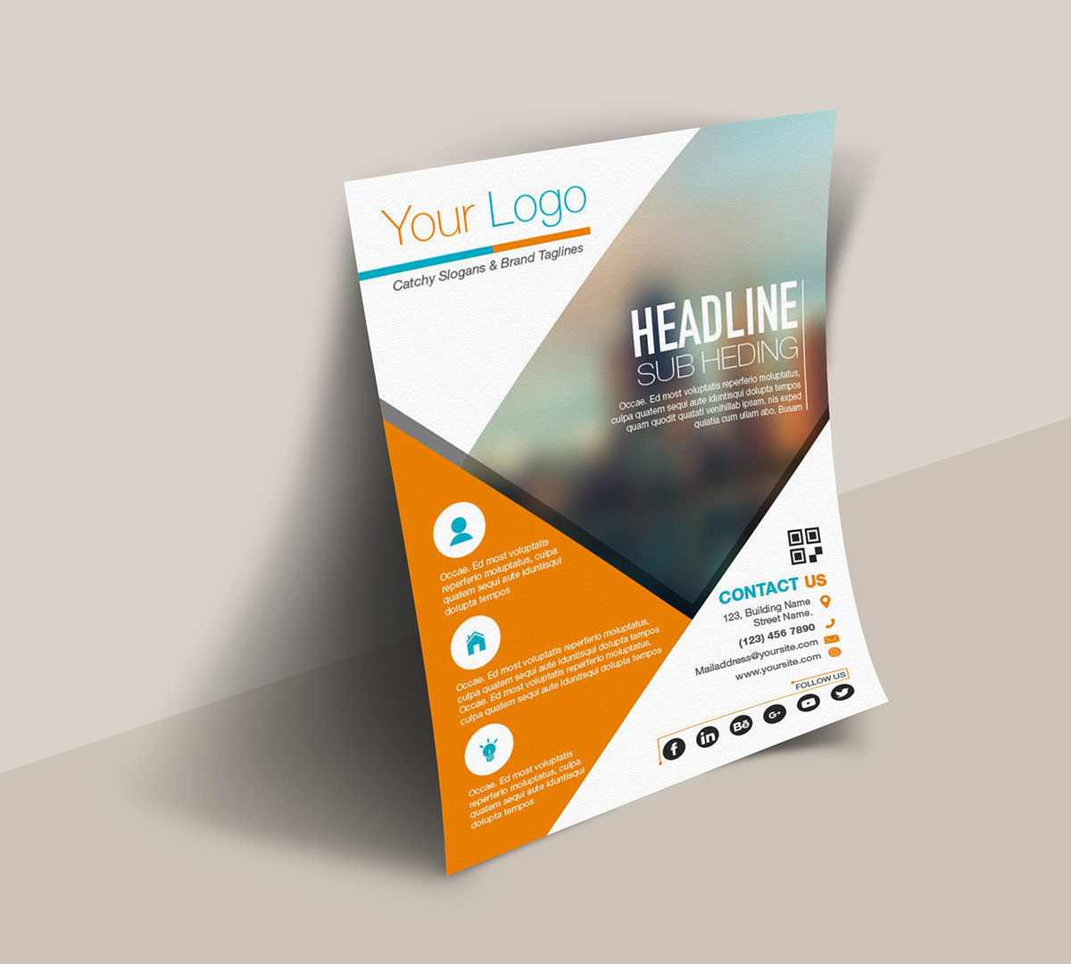 FREE INDESIGN TEMPLATES on Behance