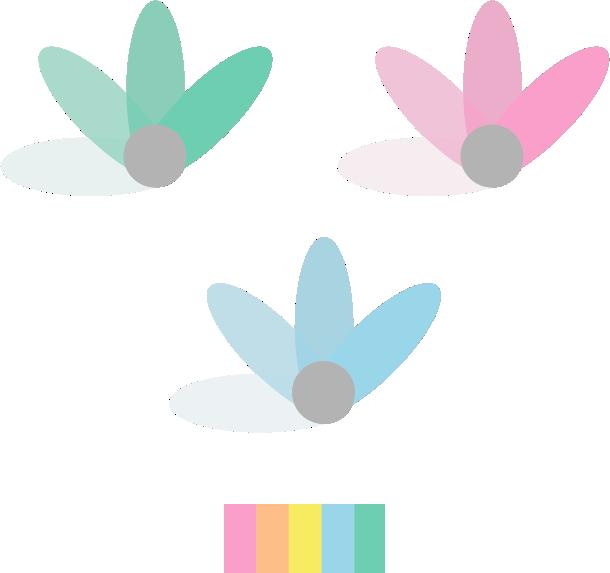 garden marca Logotipo identidade visual moda