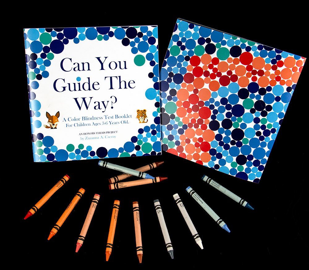Color Blindness Test Booklet For Toddlers On Behance