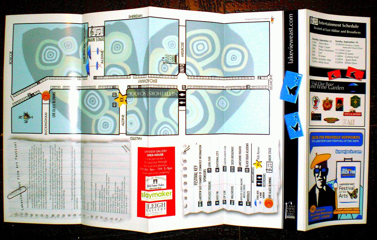 illustrations logos brochure
