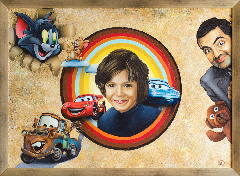 toys boy portrait Mr. Bean