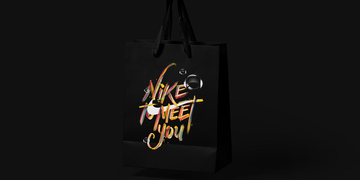art direction  ArtDirection ILLUSTRATION  Illustrator Nike Swoosh tino najera type