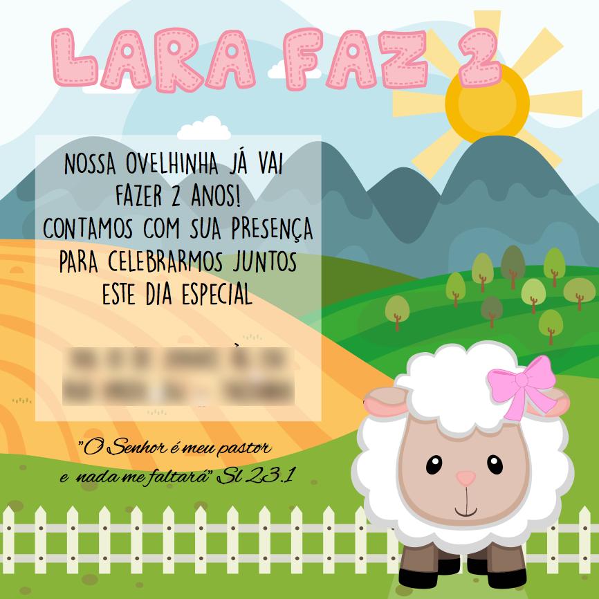 convite virtual Meme Redes Sociais aniversáro Birthday kids party Invitation