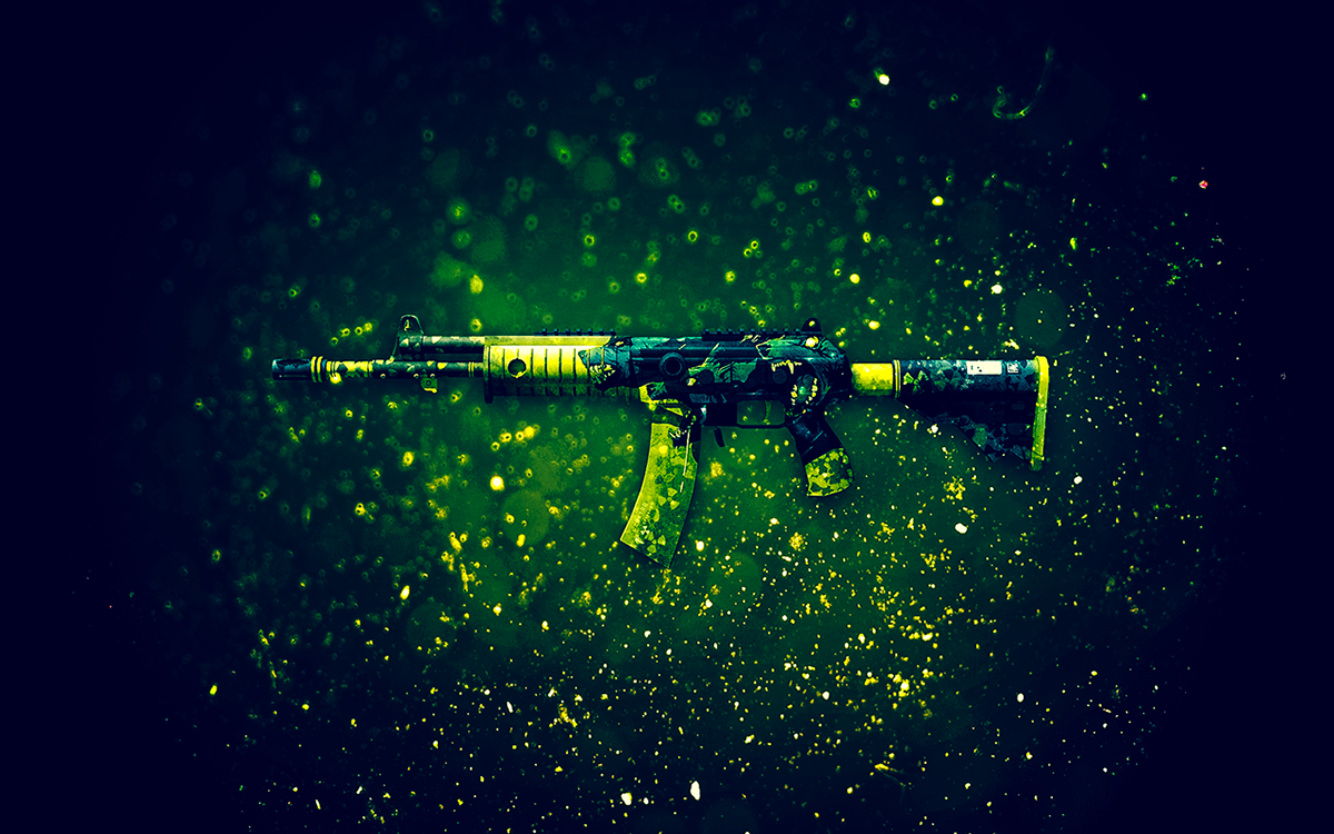 Cs Go Weapon Skin Wallpapers On Behance