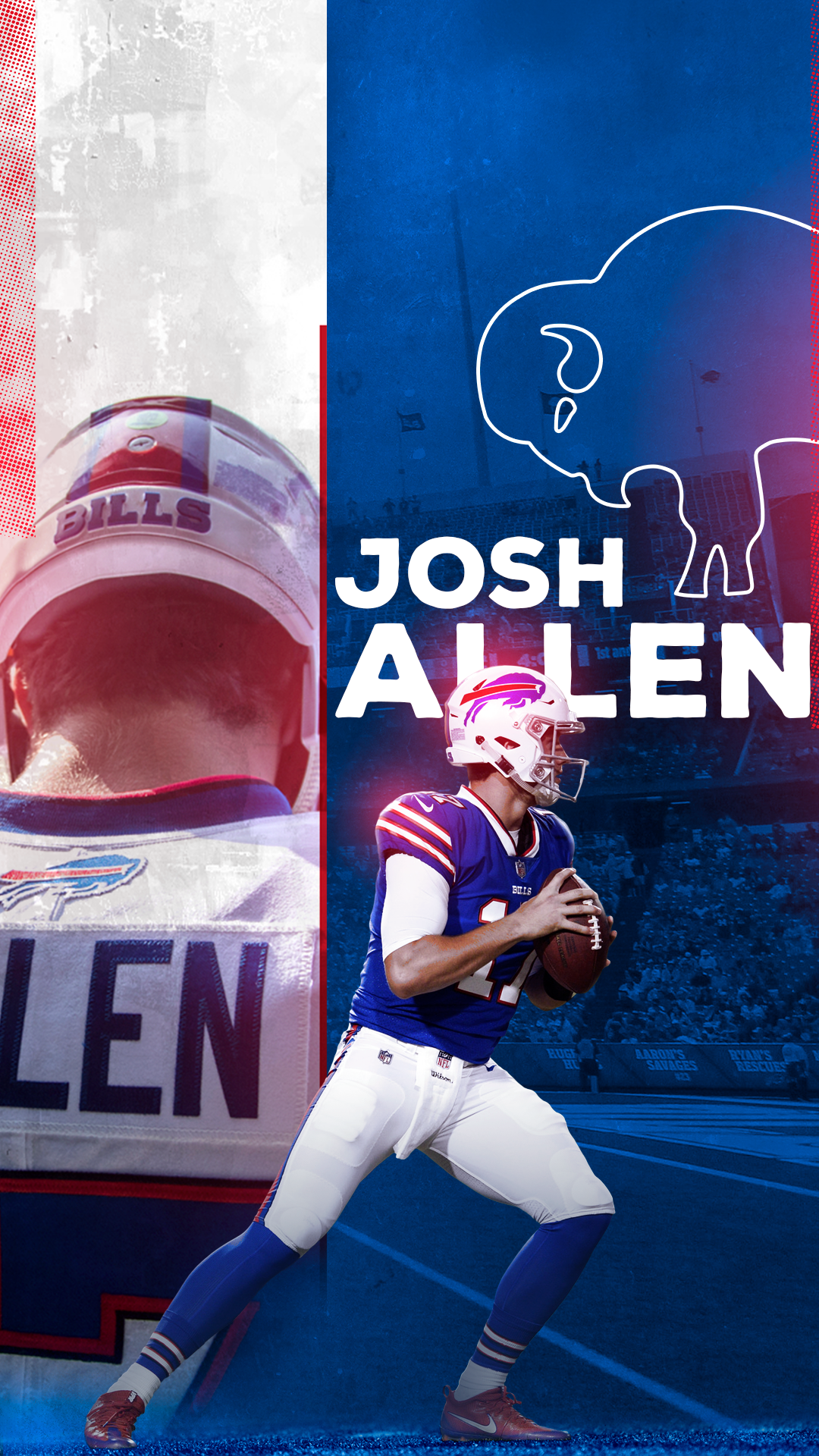 Buffalo Bills Concept Art Direction On Behance