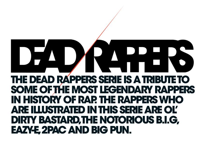 DEAD RAPPERS on Behance