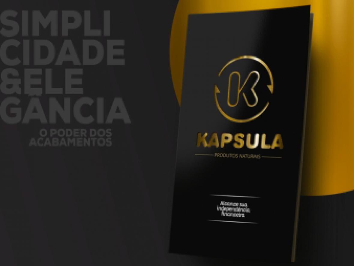 design Folder institucional  kapsula