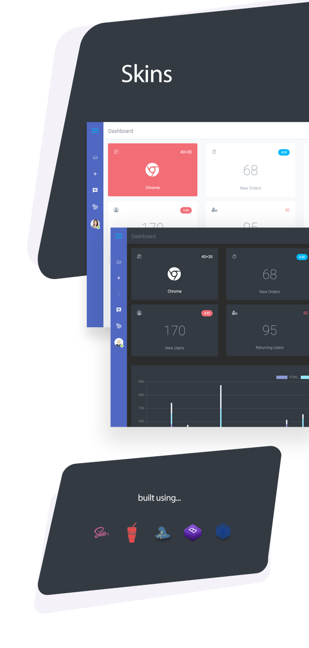 Boxify Bootstrap 4 Admin Dashboard By Xvelopers Themeforest