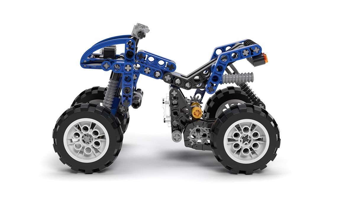 LEGO QUAD - Adobe Dimension CC on Student Show