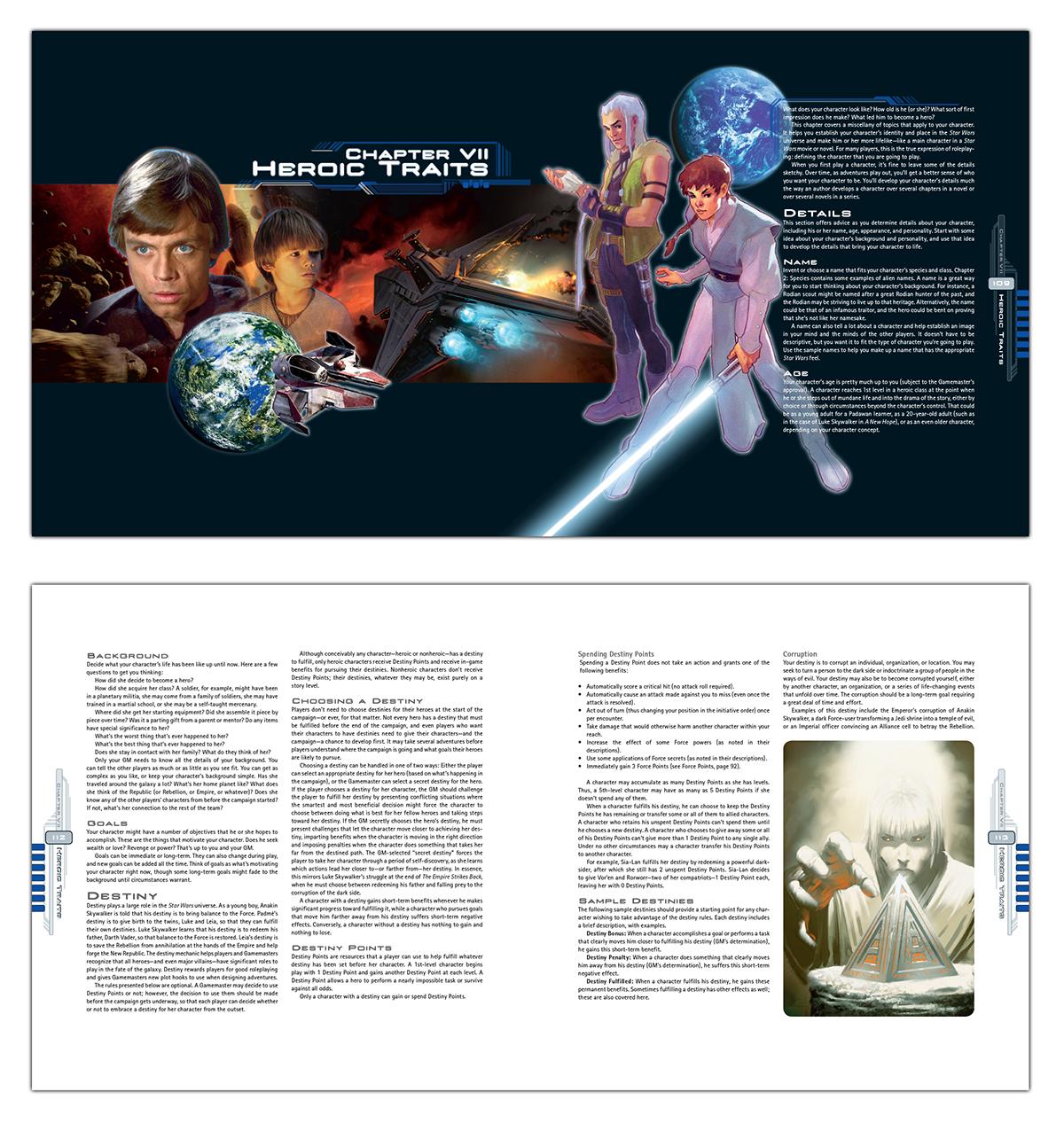 Star Wars Saga Edition RPG - Core Rulebook | eBay