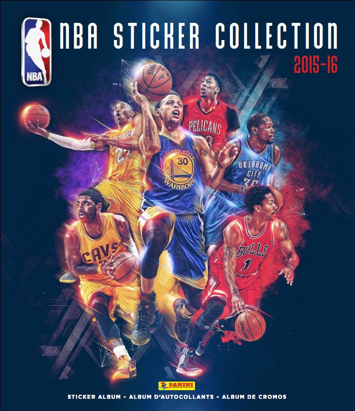 Panini 2015 16 nba sticker collection on behance