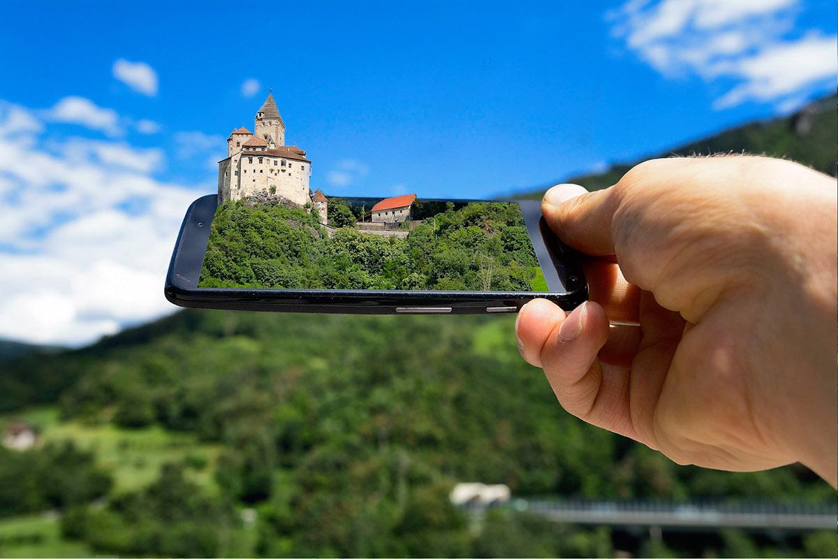 Landscape smartphone Technology photo-art Nature monuments vision Photo Manipulation  Nikon Motorola smartphone