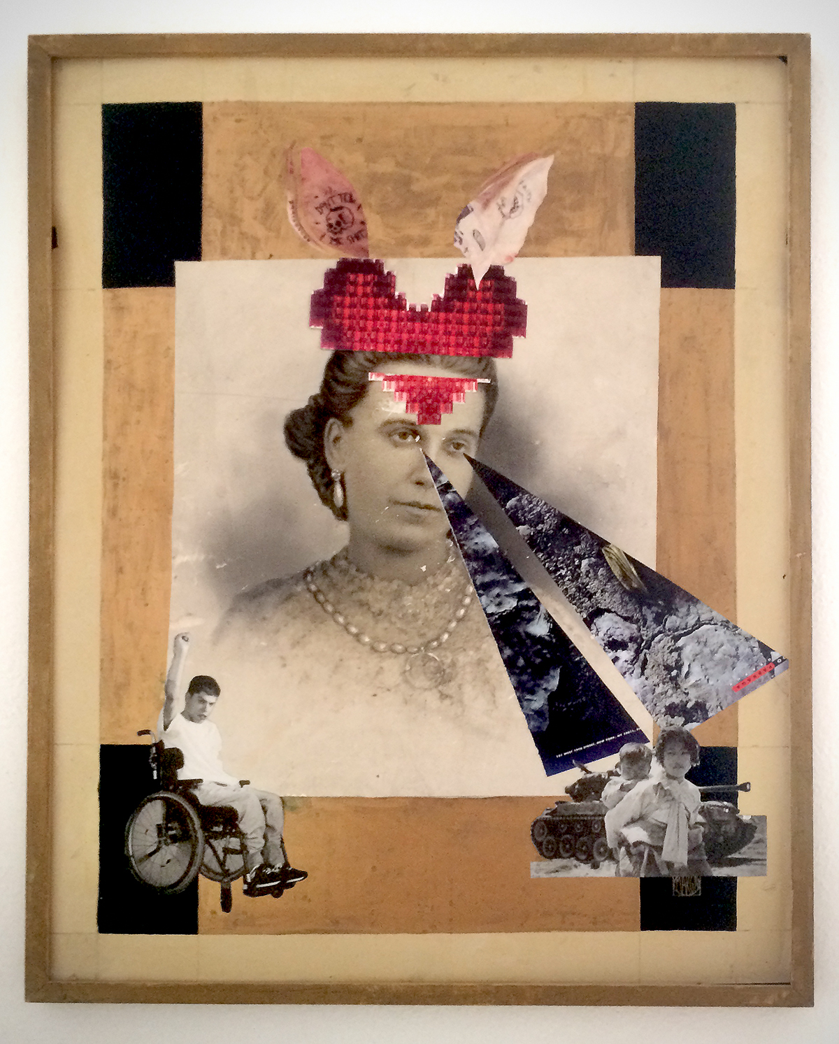 hand made,paper,collage