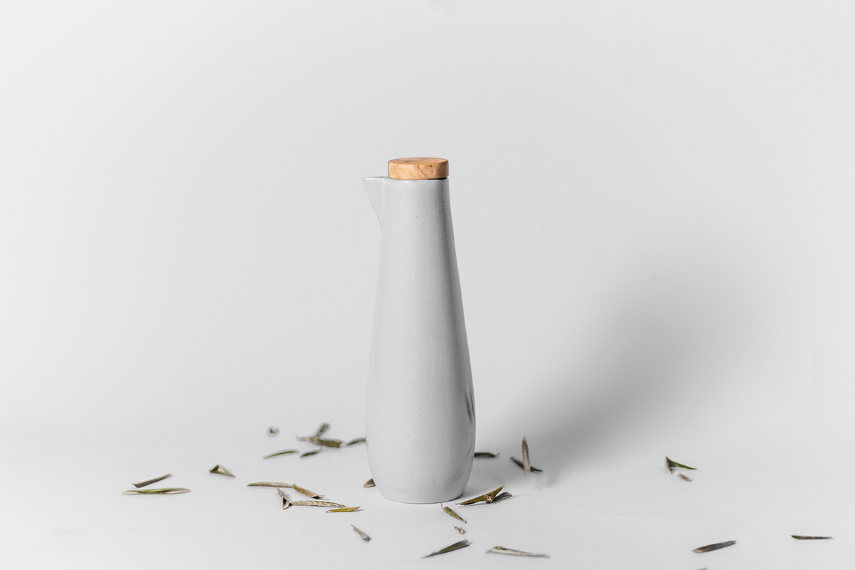 Pottery oil product kitchen blind porcelain craft handmade design MorewithLess