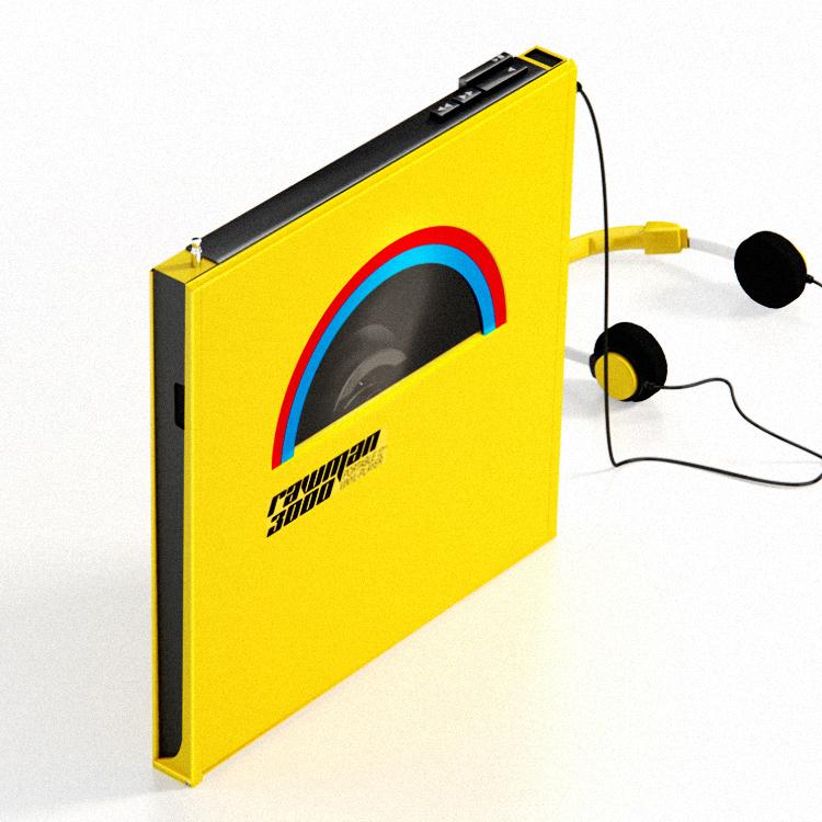 Rawman 3000 Portable Vinyl Players On Behance