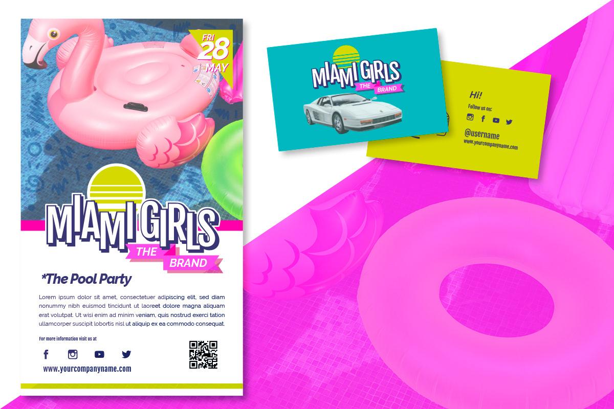 free vector template branding  logo girls freebies free download flyer busines card