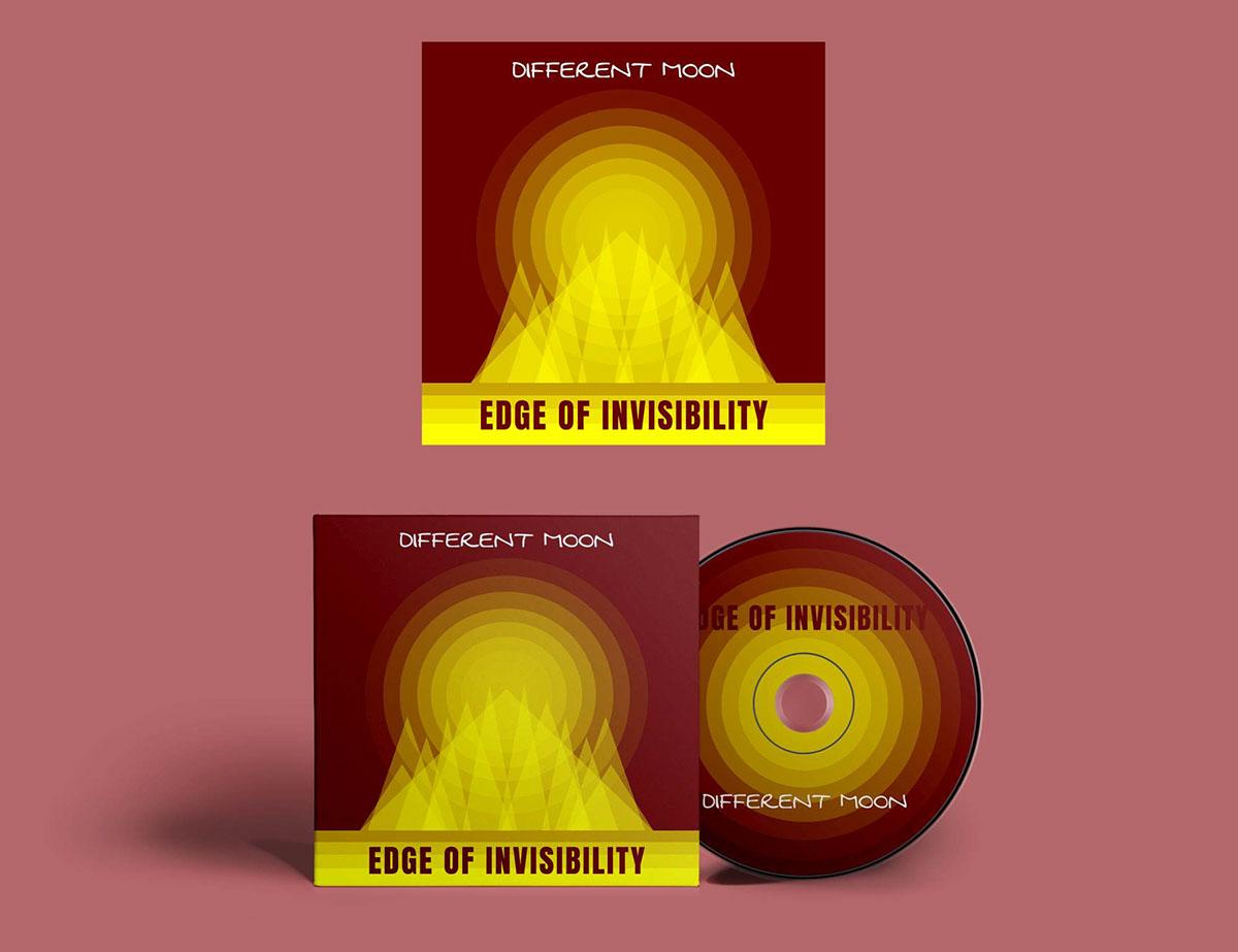 album art Album cover Cover Art typography   alternative rock flat design vector