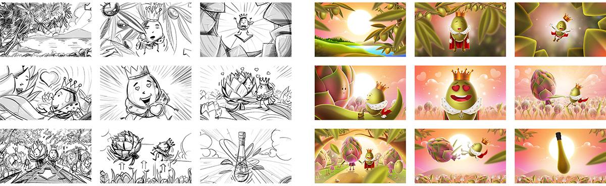 animation  art king Love motion movıe olive story summer ILLUSTRATION