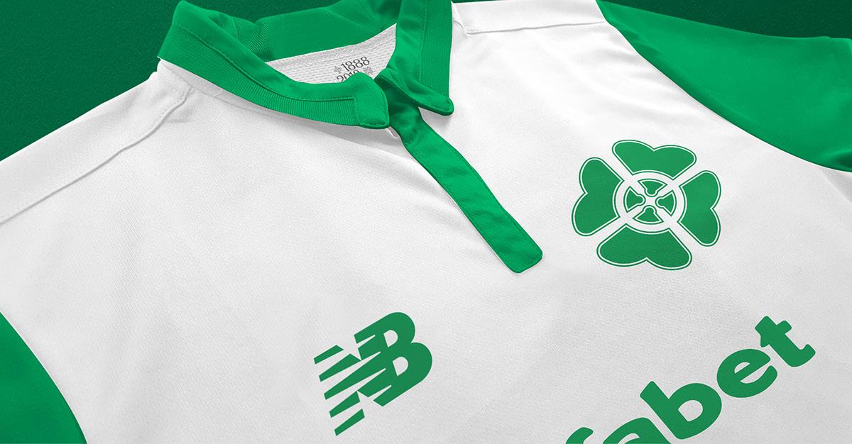 sports shoes d8db1 7c492 Celtic FC New Balance Away Jersey 18/19 Concept Kit on Behance